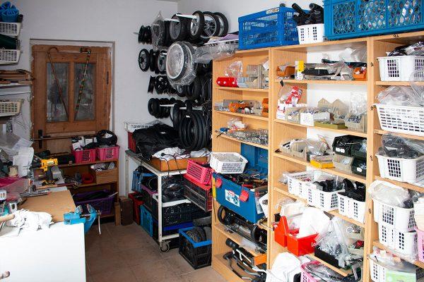 Ein Blick in unsere Werkstatt